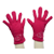 Merino Gloves in pink.