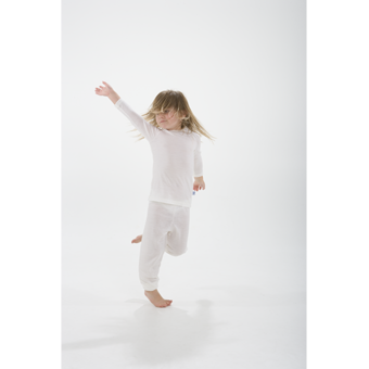 Merino Kids Natural Base Layer .