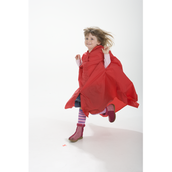 Kids Raincape Making Rain Fun.