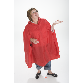 Waterproof Raincape from Baby to Adult Sizes .