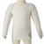 Merino Baby Long Sleeve Top in vanilla.