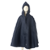 Waterproof Rain Cape in navy.